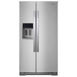 """Whirlpool Side-By-Side Refrigerators 36"""" Wide Counter Depth Side-by-Side Fridge"""