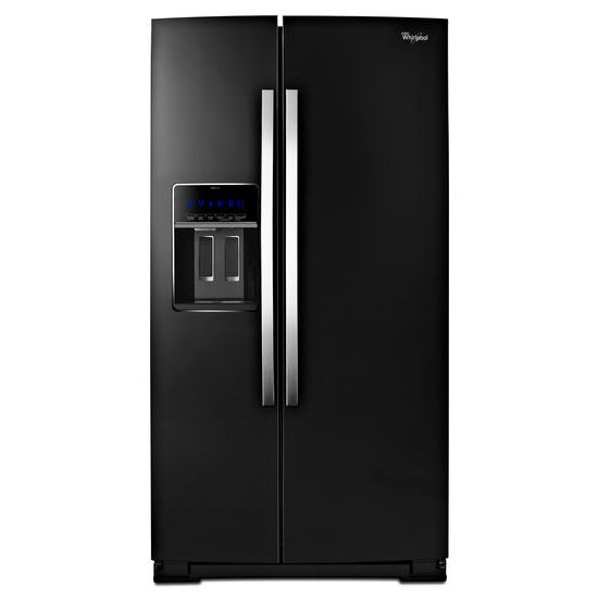 "Whirlpool Side-By-Side Refrigerators 36"" Wide Side-by-Side Counter Depth Fridge - Item Number: WRS970CIDE"