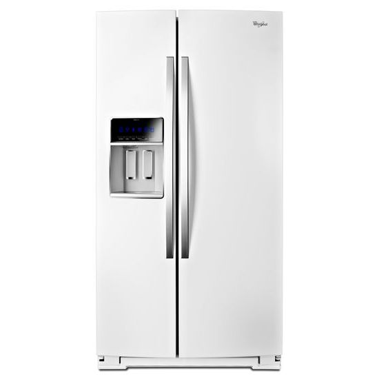 """Whirlpool Side-By-Side Refrigerators 36"""" Wide Side-by-Side Counter Depth Fridge - Item Number: WRS970CIDH"""