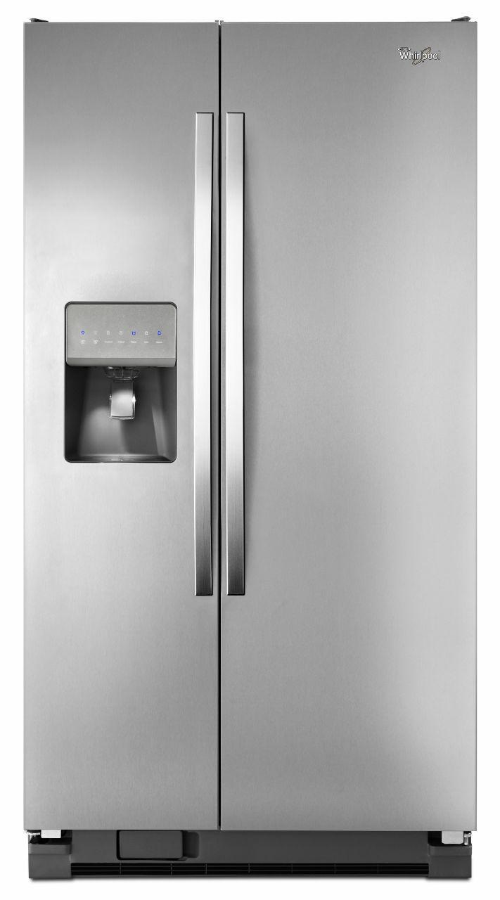 Whirlpool Side-By-Side Refrigerators 25.4 Cu. Ft. Side-by-Side Refrigerator - Item Number: WRS325FDAM