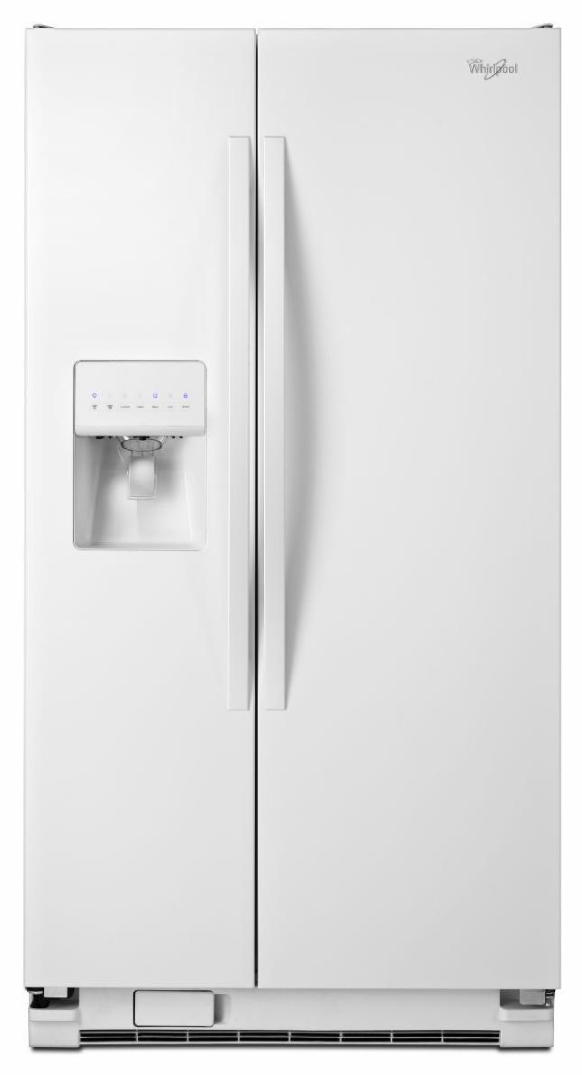 Whirlpool Side-By-Side Refrigerators 25.4 Cu. Ft. Side-by-Side Refrigerator - Item Number: WRS325FDAW