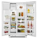 Whirlpool Side-By-Side Refrigerators ENERGY STAR® 25.4 Cu. Ft. Side-by-Side Refrigerator with Greater Capacity - Accu-Chill™ Temperature Management System