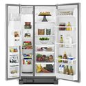 Whirlpool Side-By-Side Refrigerators 22 cu. ft. ENERGY STAR® Side-by-Side Refrigerator with In-Door-Ice® system