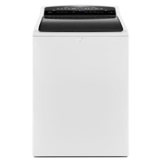 Whirlpool Top Load Washers 4.8 cu. ft. Cabrio® HE Top Load Washer - Item Number: WTW7300DW
