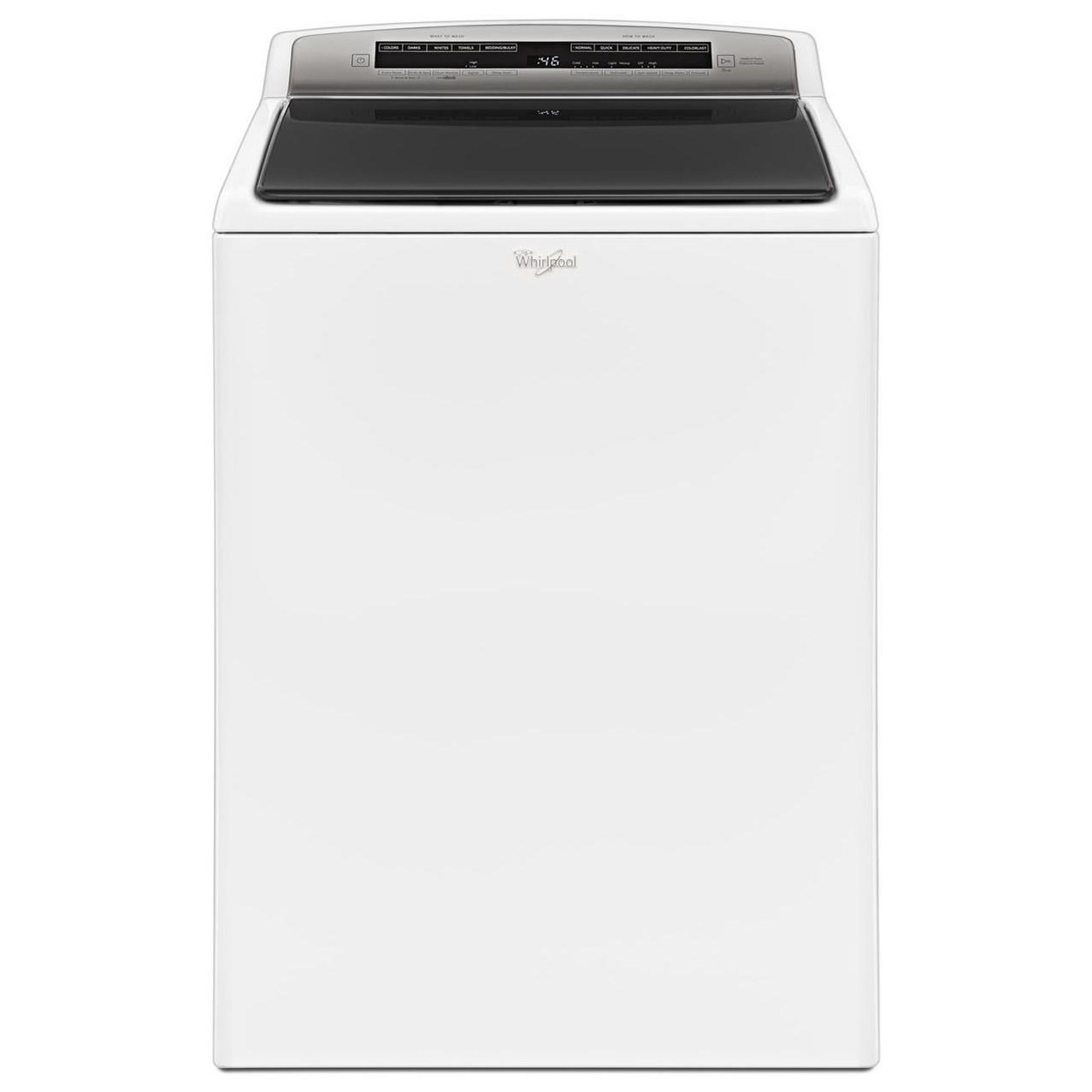 Whirlpool 4 8 Cu Ft He Top Load Washer With Water Faucet