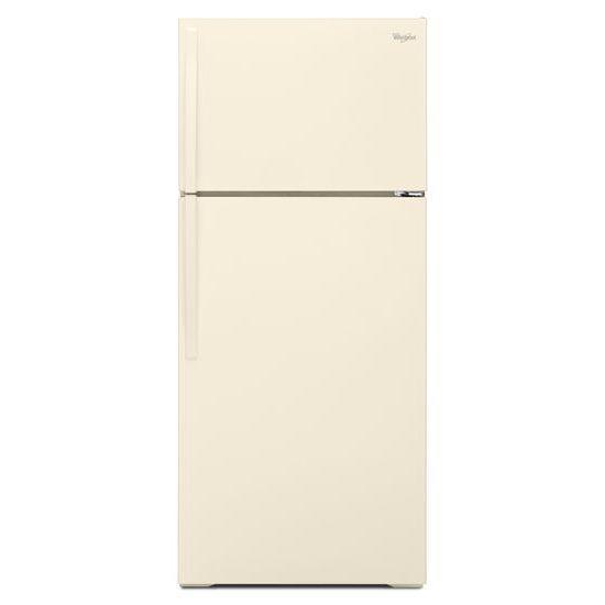 Whirlpool Top Mount Refrigerators 16 Cu. Ft. Top-Freezer Refrigerator - Item Number: WRT106TFDT