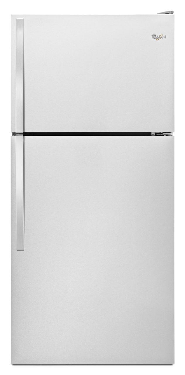 Whirlpool Top Mount Refrigerators 18 Cu. Ft. Top-Freezer Refrigerator - Item Number: WRT108FZDM