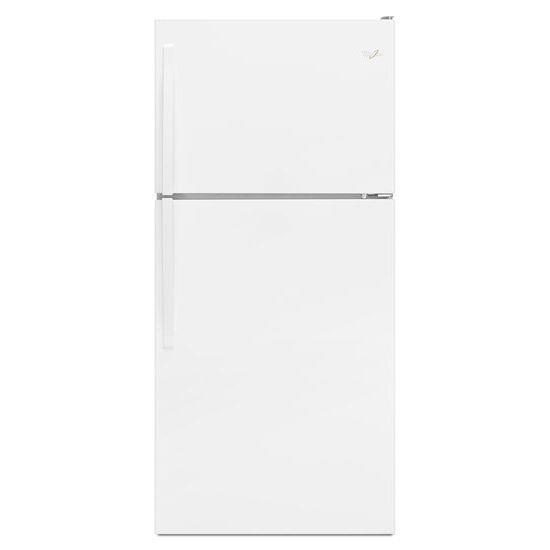 Whirlpool Top Mount Refrigerators 18 Cu. Ft. Top-Freezer Refrigerator - Item Number: WRT108FZDW