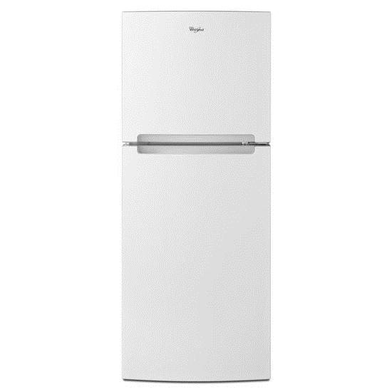 Whirlpool Top Mount Refrigerators 11 cu. ft. Top Freezer Refrigerator - Item Number: WRT111SFDW