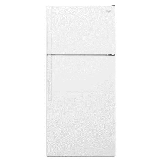 Whirlpool Top Mount Refrigerators 14 cu. ft. Top-Freezer Refrigerator - Item Number: WRT134TFDW