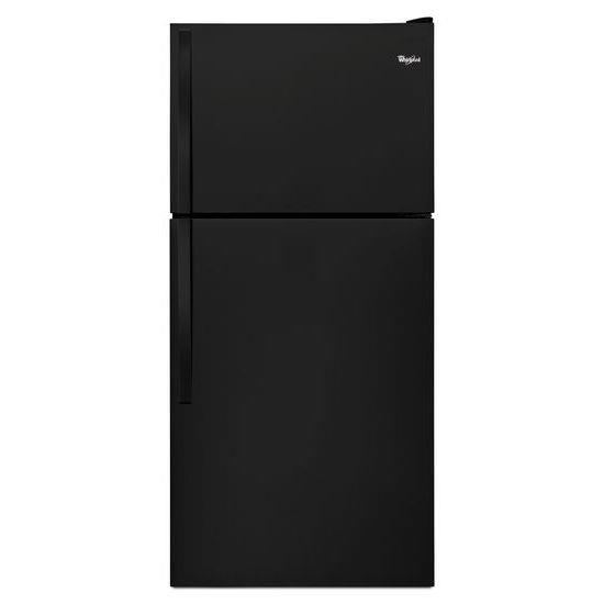 "Whirlpool Top Mount Refrigerators 18.2 cu. ft., 30"" Top-Freezer Refrigerator - Item Number: WRT138FZDB"