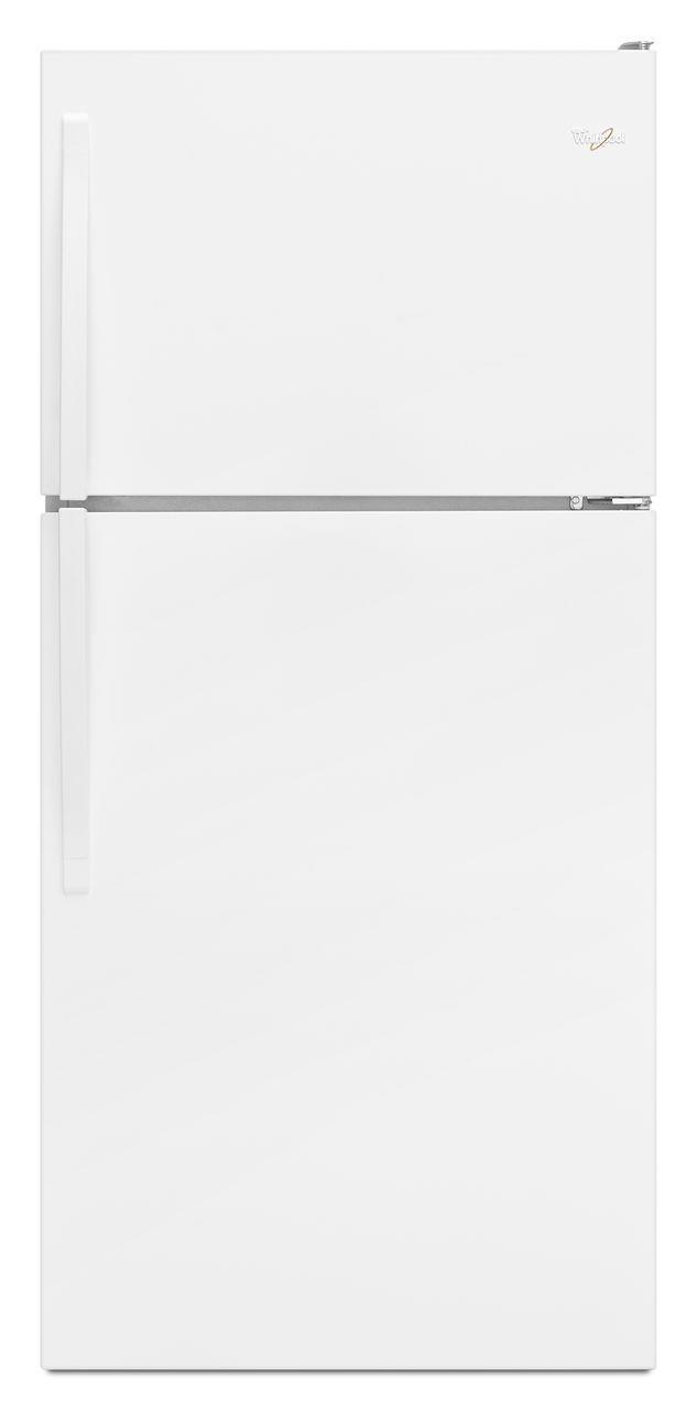 "Whirlpool Top Mount Refrigerators 18.2 cu. ft., 30"" Top-Freezer Refrigerator - Item Number: WRT138FZDW"