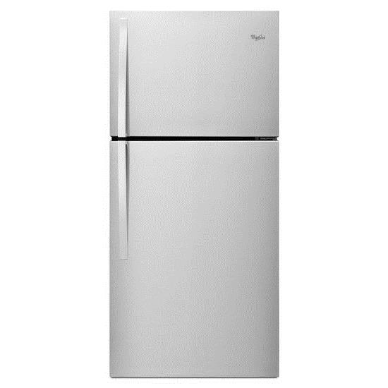 Whirlpool Top Mount Refrigerators 19.2 cu. ft., 30-In Top-Freezer Refrigerator - Item Number: WRT519SZDD