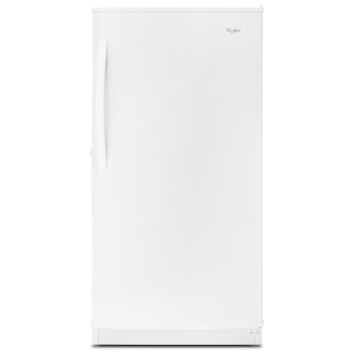 Whirlpool Upright Freezers 16 cu. ft. Upright Freezer with Frost-Free D - Item Number: WZF57R16FW