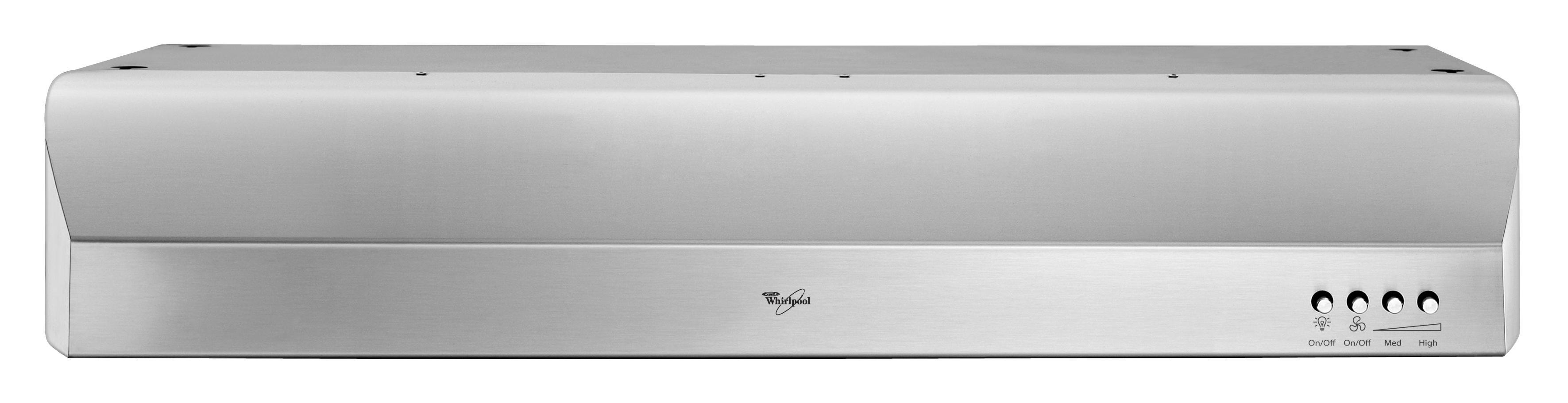 "Whirlpool Ventilation 30"" Under-the-Cabinet Range Hood - Item Number: GXU7130DXS"