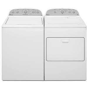 Top Load Washer and Electric Dryer Set
