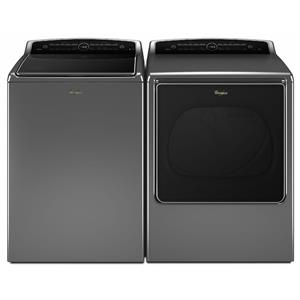 Top-Load Washer and Front-Load Elec Dryer