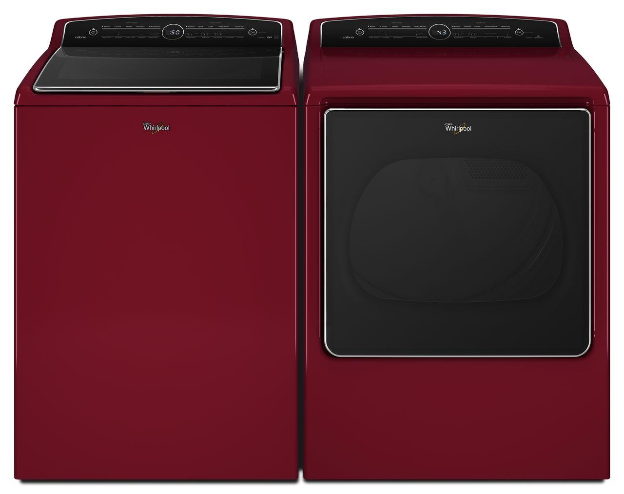 Whirlpool Washer and Dryer Sets - Whirlpool Washer and Dryer Combo - Item Number: WTW8500DR+WED8500DR