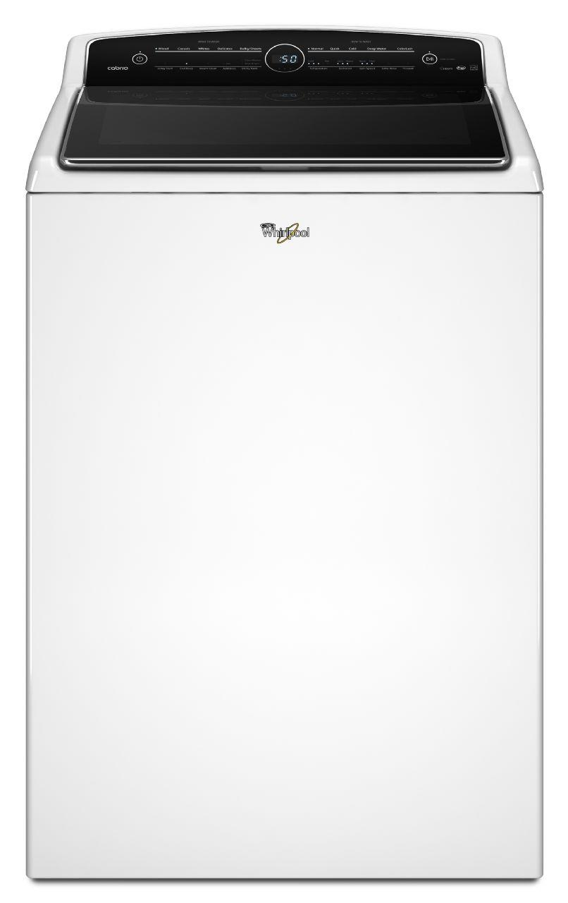 Whirlpool Washers 5.3 cu. ft. Cabrio® Top Load Washer - Item Number: WTW8500DW