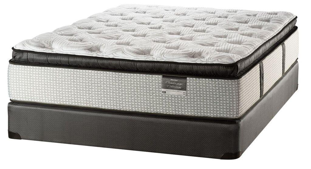 White Dove Mattress Cambridge Grand Ave Lux PT King Luxury Pillow Top Mattress - Item Number: LuxPT-K