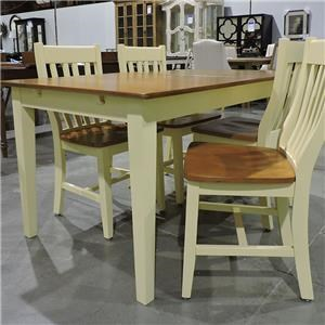 Whitewood Clearance 5 Pc Table & Chair Set