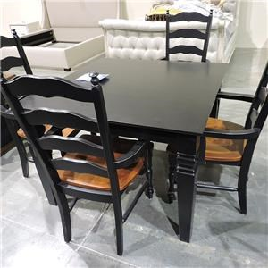 Whitewood Clearance 5 Pc-Table & Chair Set