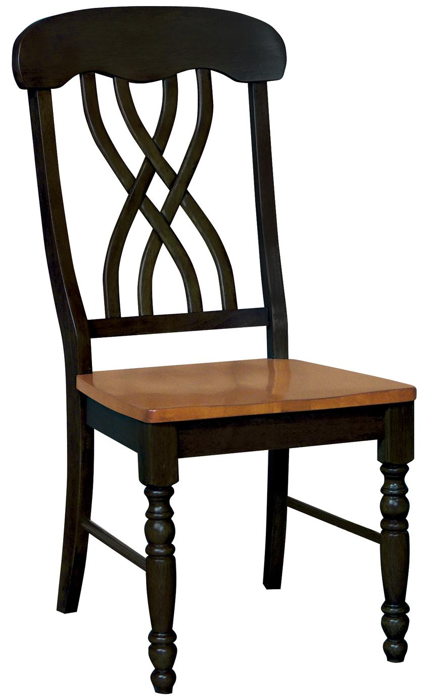 Whitewood Dining Room Pieces Dining Side Chair - Item Number: C57-390B