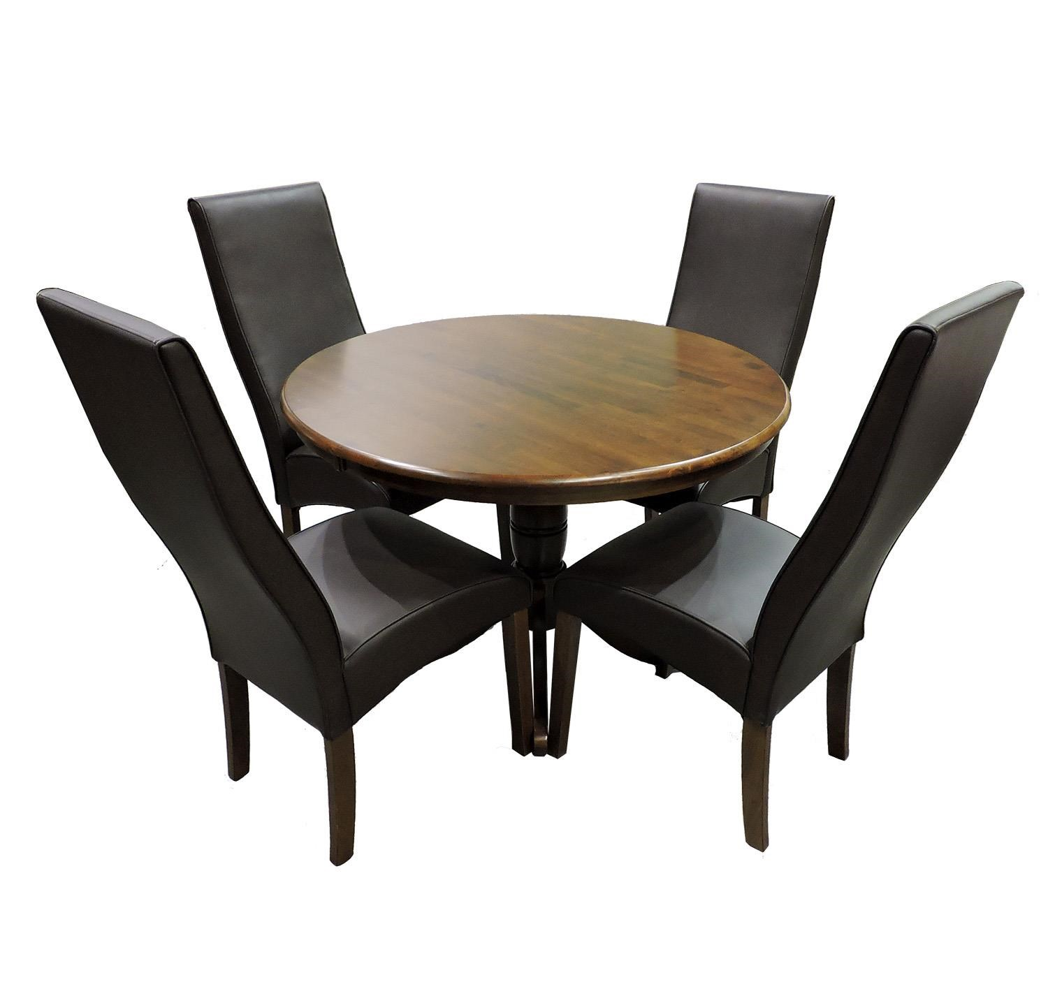 Whitewood Dining Set 5 Piece Dining Set - Item Number: T581-42-RT