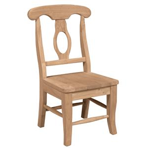 Whitewood Juvenile Child's Empire Chair
