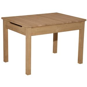 Whitewood Juvenile Kid's Lift Top Table
