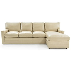 Whittemore-Sherrill 442 2 Pc L-Shape Sectional Sofa w/ RAF Chaise