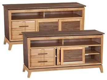 Entertainment Console at Sadler's Home Furnishings