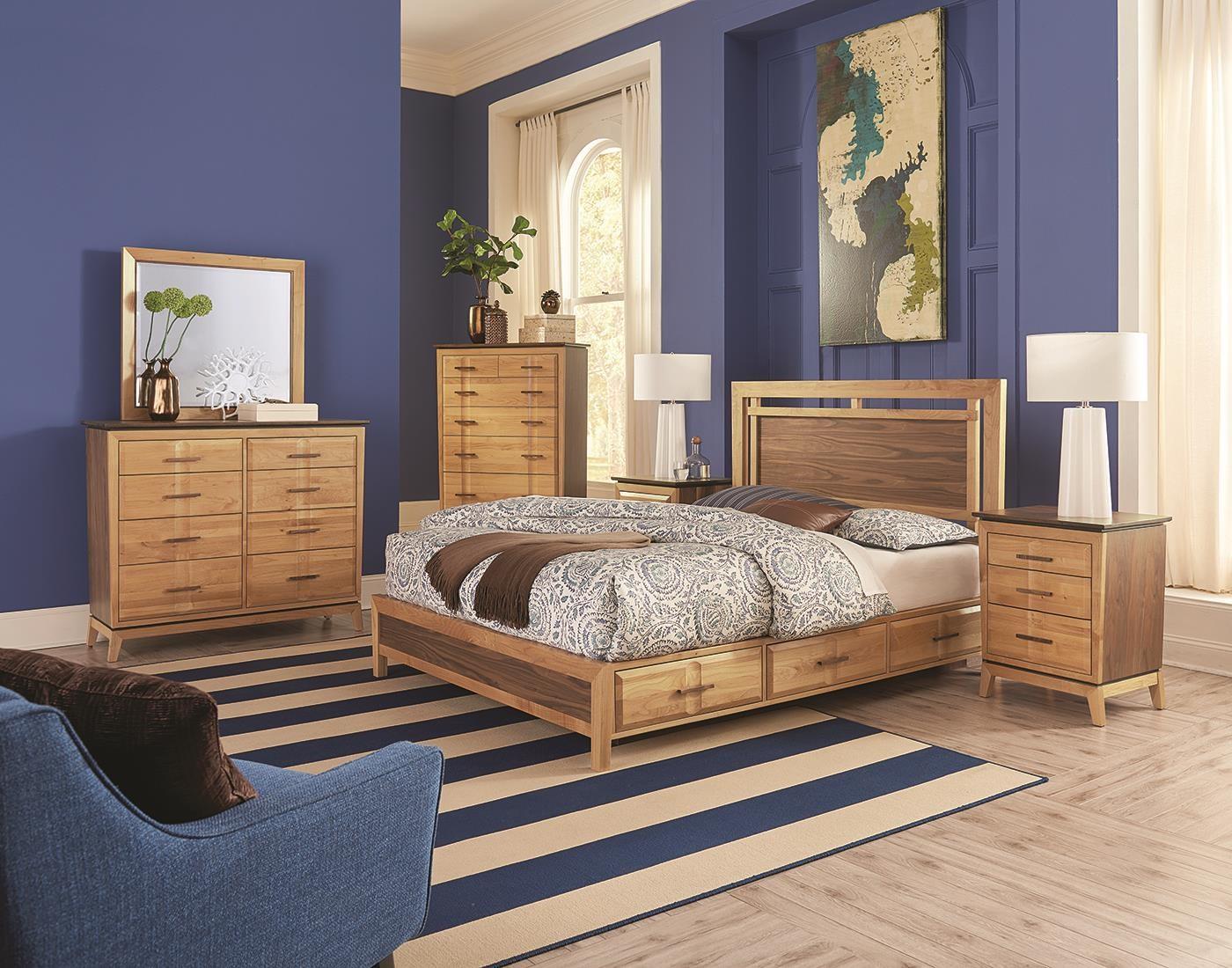 Queen Platform Bedroom at Sadler's Home Furnishings