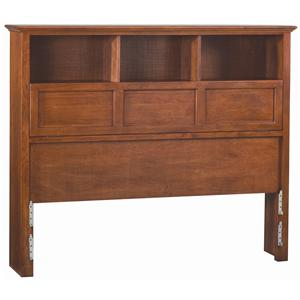 Whittier Wood McKenzie Bookcase Queen Headboard