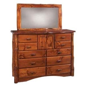 10 Drawer Mule Dresser