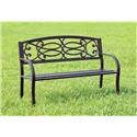 Williams Imports Potter Patio Bench - Item Number: CMOB1808