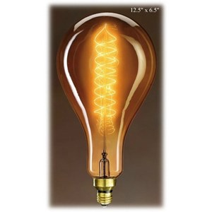 Will's Company Accents Grand Nostalgic Bulb - 12.5""