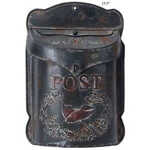 Will's Company Accents Vintage 'Post' Hanging Mailbox - 15.5""