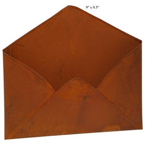 Will's Company Accents Rust Envelope - 9.5""
