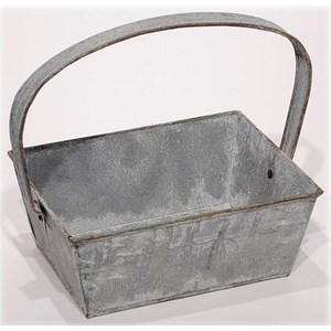 Will's Company Accents Zinc Square w/Handle