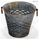 """Will's Company Accents Olive Bucket - 10.25"""" - Item Number:  KK8850L"""