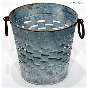 Will's Company Accents Olive Bucket - 9""