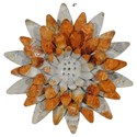 "Will's Company Accents Sunflower Magnet - 4"" - Item Number:  KK9116-AG"