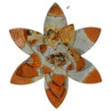 "Will's Company Accents Water Lily Magnet - 4"" - Item Number:  KK9118-AG"