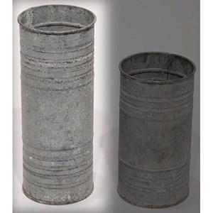 "Will's Company Accents Zinc Pillar Hldr/Vase 8"""