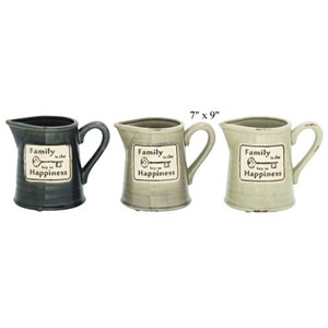 """Will's Company Accents Family Pitcher - 7"""" x 9"""""""
