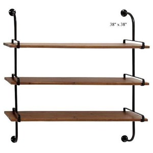 "Will's Company Accents 3 Shelf Wall Unit - 38"" x 38"""