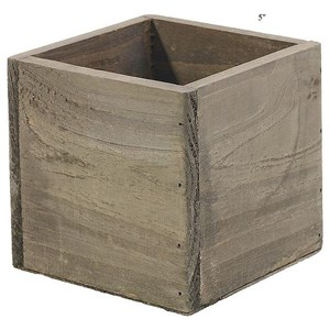 "Will's Company Accents Woodland Planter 5"" x 5"""
