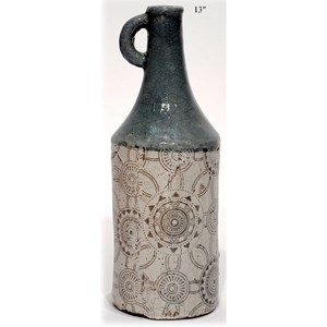 "Will's Company Accents Terracotta Vase - 13"""