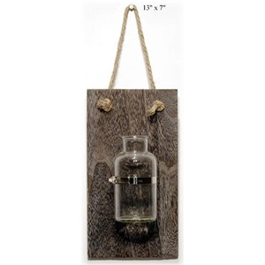 """Will's Company Accents Industrial Jar Wall Hanger - 13"""""""
